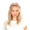 Velvet Bow Headband - Pink