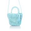 Mini Bucket Bag  - Blue