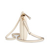 Kira Pebbled Top Zip Crossbody - Devon Sand