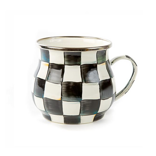 Enamel Mug - Courtly Check