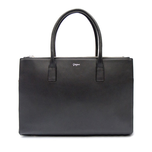 Duomo Day Bag - Black/ Silver