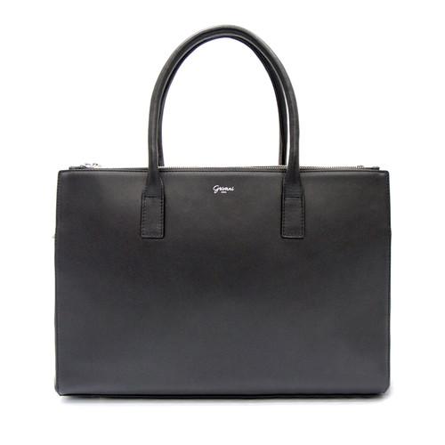 Duomo Day Bag - Black/ Silver