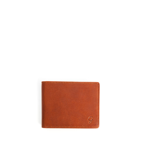Modena Bifold Wallet - Cognac