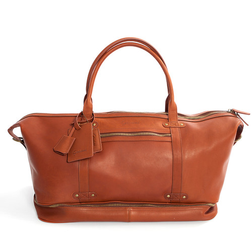 Benevento Duffle Bag - Cognac