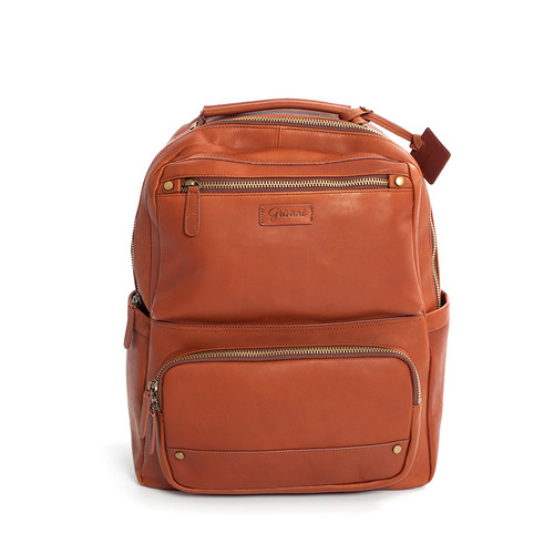 Milan Backpack - Cognac