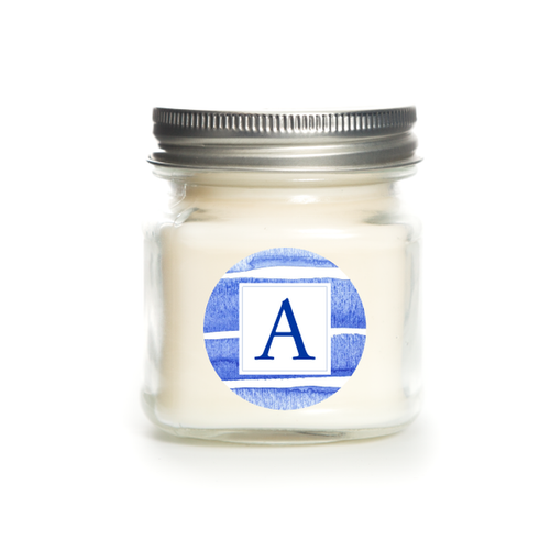 Signature Stripe Candle - Baked Vanilla Pear