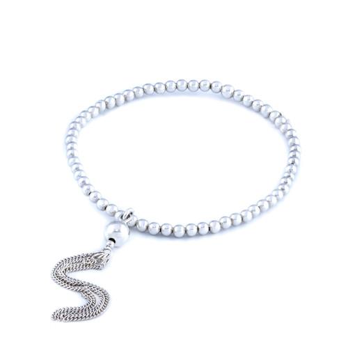 Ball Dangle Bracelet - Silver