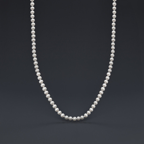 """18"""" 5-6mm Classic Pearl Neck - Freshwater Pearl"""