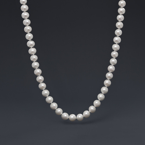 """18"""" 10-12mm Classic Pearl Neck - Freshwater Pearl"""