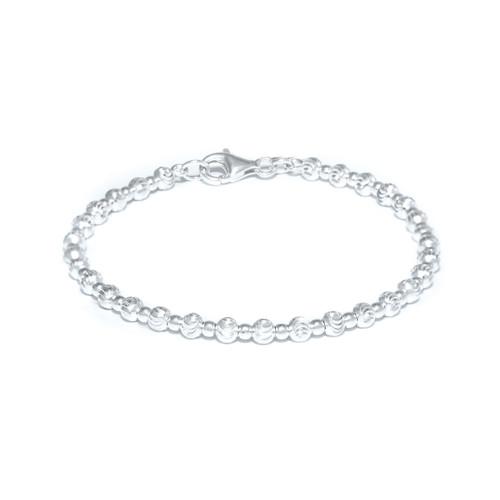 Eternity Sphere Bracelet - Silver