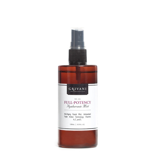 Full Potency Hyaluronic Mist - Fragrance Free - 4oz