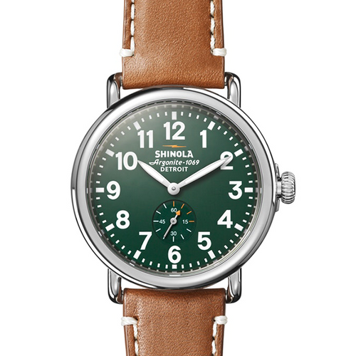 The Runwell 47MM-Green