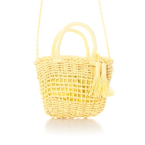 Mini Bucket Bag  - Yellow
