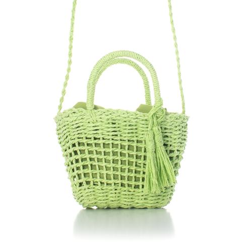 Mini Bucket Bag  - Green
