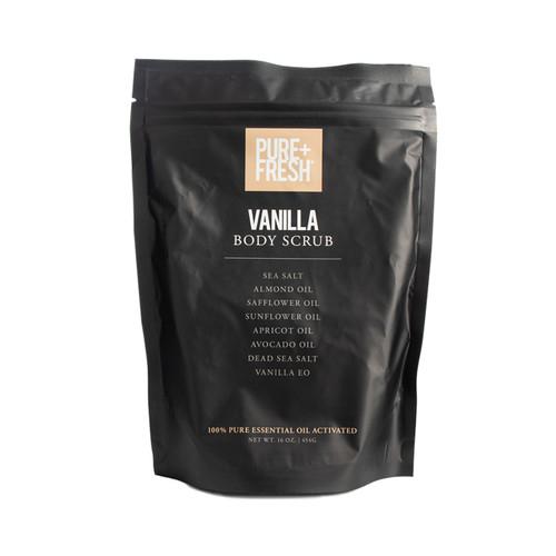 Body Scrub -16OZ - Vanilla
