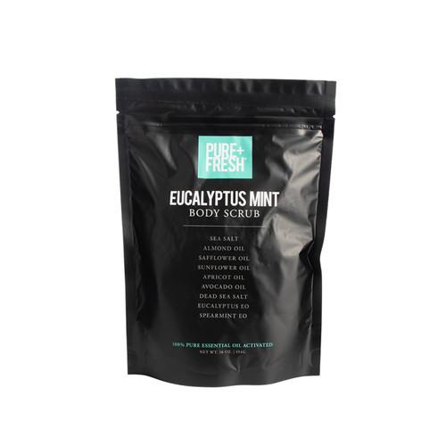 Body Scrub -16OZ - Eucalyptus Mint