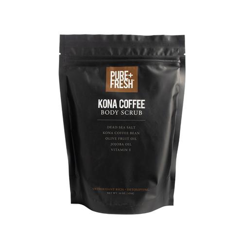 Body Scrub -16OZ - Kona Coffee