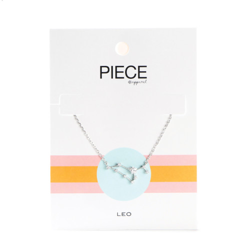 Leo Constellation Necklace - Silver