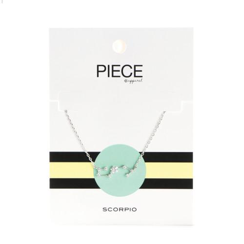 Scorpio Constellation Necklace - Silver