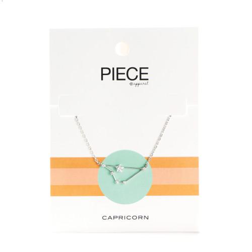 Capricorn Constellation Necklace - Silver