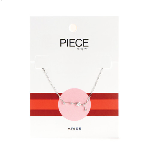 Aries Constellation Necklace - Silver