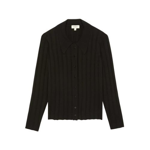 Naya Collar Sweater - Black