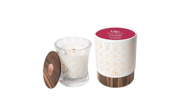 Woodwick WoodWick Aura Hourglass Candle - Rhubarb and Herbs