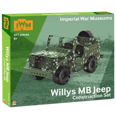 Cars Willys MB Jeep Construction Set