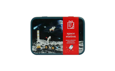 Gift in a Tin Space Station in a Tin - Construction Set Toy