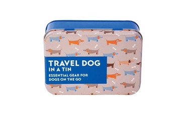 Gift in a Tin Travel Dog Set in a Tin - Dog Owner Essentials