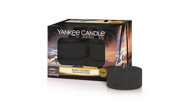 Yankee Candle Yankee Candle Scented Tea Lights - Black Coconut
