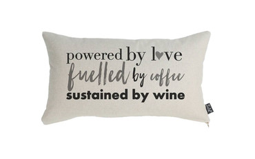 Dogs Powered By Love Cushion
