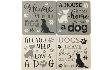 Dogs Dogs Life Coasters