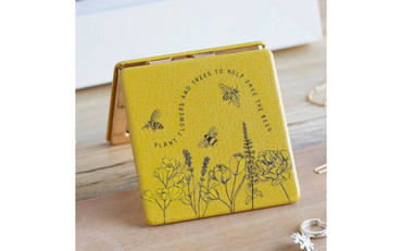 Bees Help Save The Bees Compact Mirror