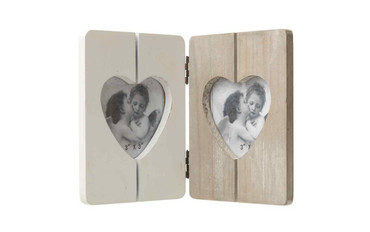 Valentines Heart Folding Picture Frame