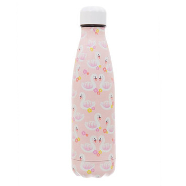Sass and Belle Freya Swan Stainless Steel Water Bottle