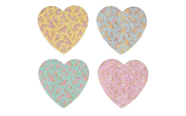 Sass and Belle Grace Floral Heart Nail File