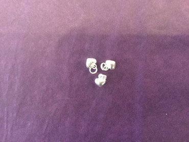 Charms Silver Heart Charm