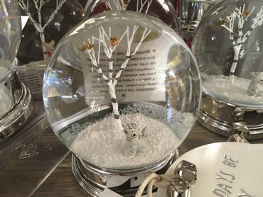 Heaven Sends Snow Globe with Cat