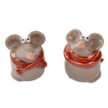 Richard Lang Mouse with a Scarf Ornament