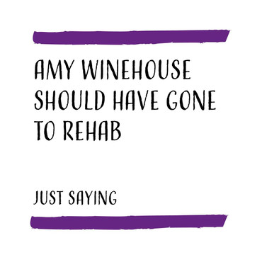Morning Cuppa Amy Winehouse Card