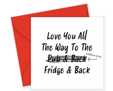 Morning Cuppa Love You All The Way Card