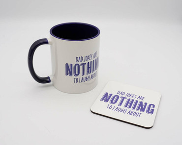 Morning Cuppa Dad Jokes Are Nothing To Laugh About Mug