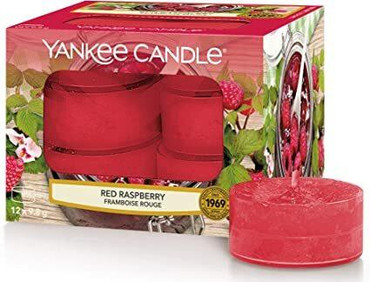 Yankee Candle Yankee Candle Scented Tea Lights - Red Raspberry