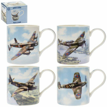 Lesser and Pavey Classic Planes Mugs