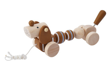 CGB Giftworks Little Tribe Peter The Pull Along Puppy