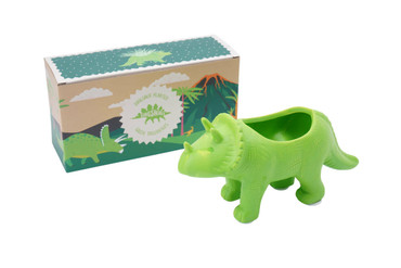 CGB Giftworks Dinosauria Triceratops Planter
