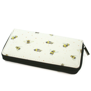 Black Ginger Bee Purse