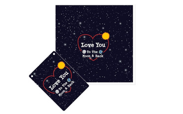 Morning Cuppa Love You Plaque and Card Fusion