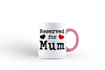 Morning Cuppa Square Reserved For Mum Mug